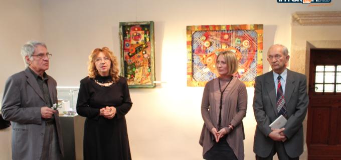 VIDEO: Vernisaj expozitie de artă abstractă la Muzeul de Istorie Turda