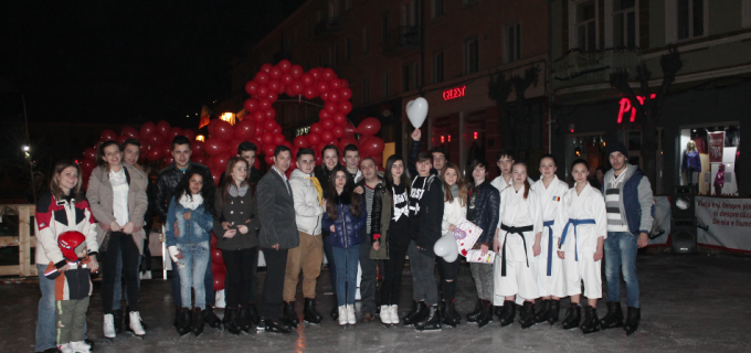 VIDEO: Acțiune TNL TURDA – Valentine's Day 2016