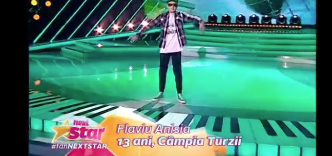 """VIDEO: Un tânăr din Câmpia Turzii a făcut spectacol la emisiunea """"Next Star"""""""