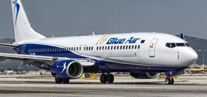 Compania aeriană Blue Air reîncepe operarea zborurilor pe Aeroportul Internațional Cluj