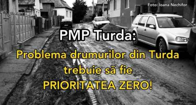 Mișcarea Populară: Problema drumurilor din Turda trebuie să fie PRIORITATEA ZERO!