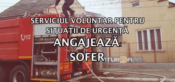 Primăria Turda organizează concurs pentru ocuparea postului vacant de ȘOFER