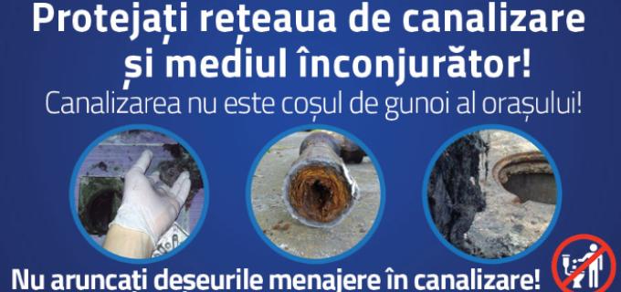 Campanie de informare și conștientizare inițiată de Compania de Apă Arieș
