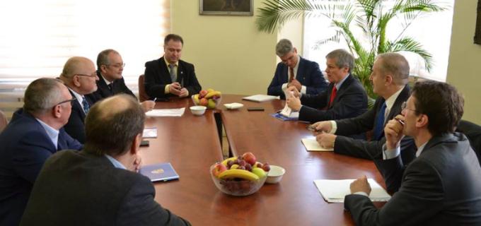 Întâlnirea preşedintelui Consiliului Judeţean Cluj cu Primul Ministru al României, Dacian Cioloș