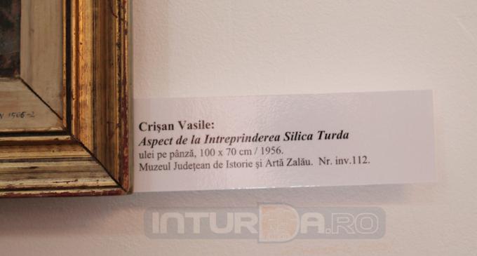 Mai multe intreprinderi din Turda printre subiectele tablourilor expuse la Primăria Turda