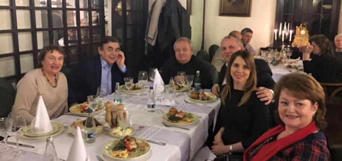 Președintele PPU Diaspora, Avram Gal, a avut onoarea sa fie invitatul familiei Avram Nicolae si a tenorului Mihai Munteanu