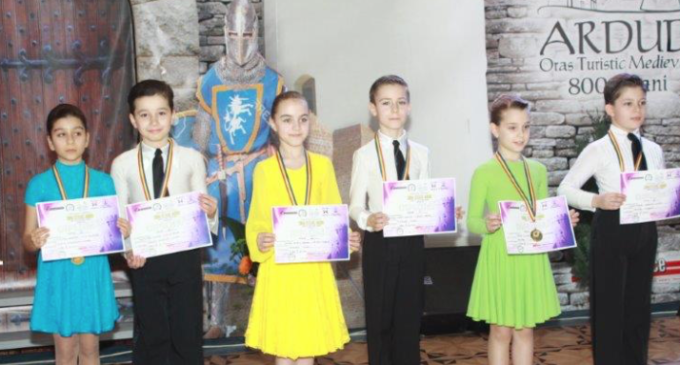 Clubul de Dans Sportiv Potaissa Turda a participat la Cupa Cetate Ardud