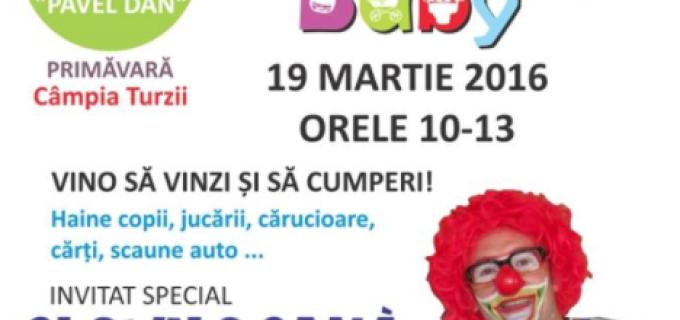 """Târgul pentru copii """"Active Baby"""", în această sâmbătă la Câmpia Turzii!"""