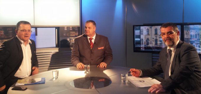 Mircea Irimie, invitatul emisiunii TVR Cluj – Proiect România