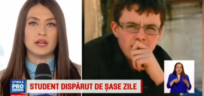 ProTv: Un student de 20 de ani din Turda a disparut de 6 zile.
