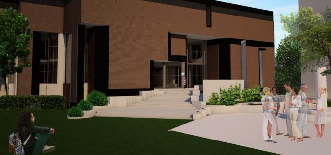 """Obiectivul """"Reabilitare şi modernizare faţade Casa de Cultură – 500 locuri Municipiul Turda"""""""
