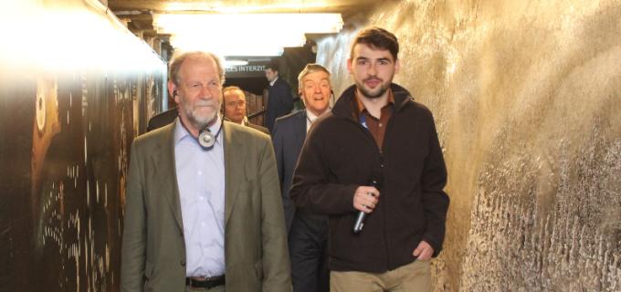 Comisari Europeni în vizită la Salina Turda la invitația primarului Tudor Ștefănie