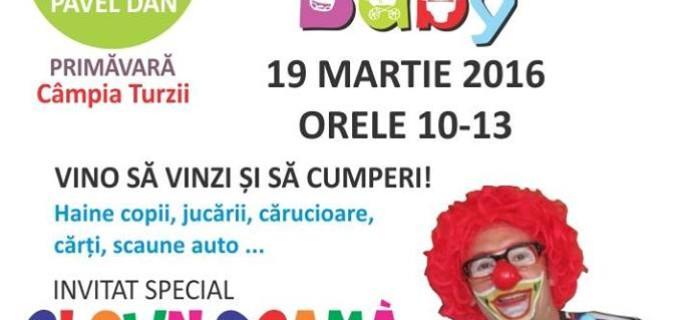 """Targ cu produse pentru copii """"Active Baby"""" la Campia-Turzii"""
