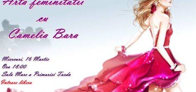 """Fun Kids organizeaza conferinta """"Arta Feminitatii"""", cu Camelia Bara"""