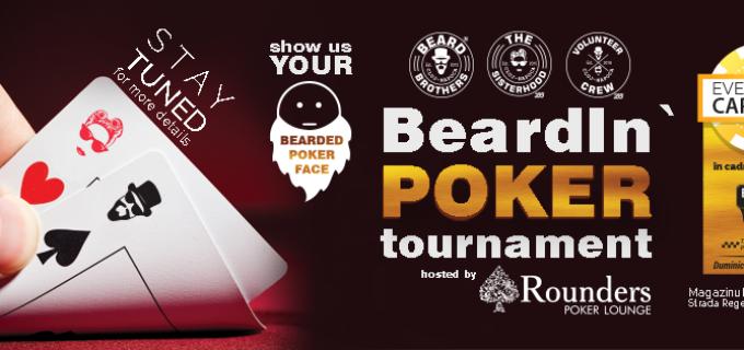"""Beard Brothers continua seria evenimentelor inedite cu """"Beardin poker"""" – turneu caritabil de poker"""