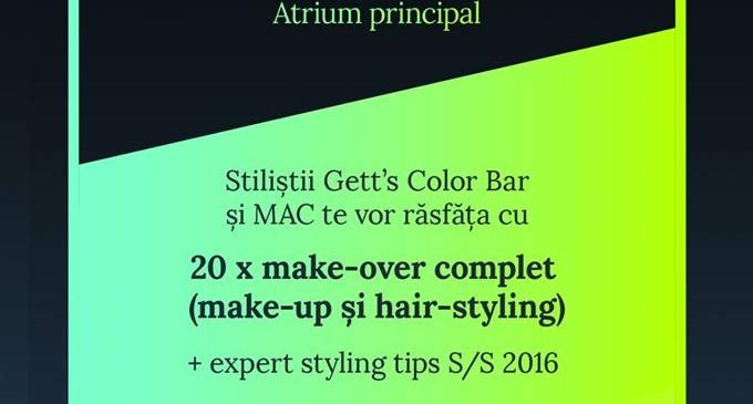Sesiuni gratuite de hair & make-up, un cadou Iulius Mall de 8 Martie