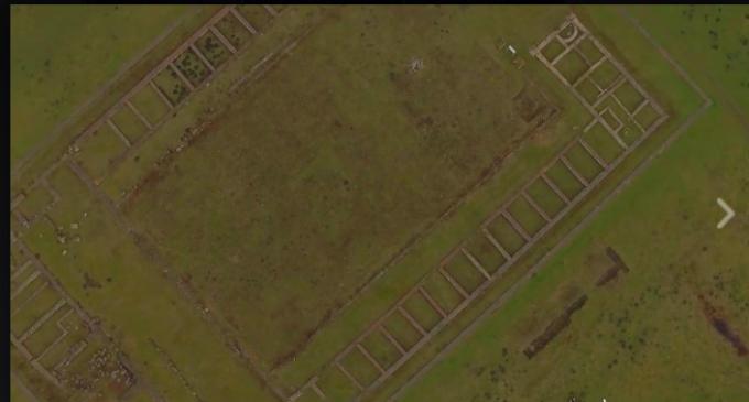 Montaj video cu cadre aeriene din Turda, orașul salinei și al castrului roman