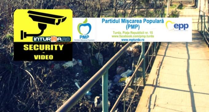 PMP propune alocarea de fonduri pentru montarea unor camere de supraveghere in zonele unde se arunca deseuri