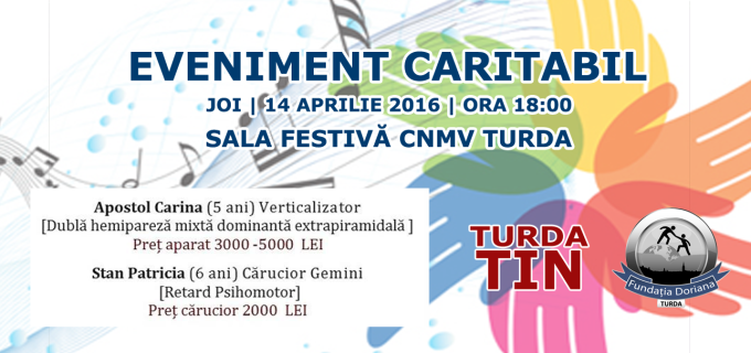 "Eveniment caritabil organizat astăzi la Colegiul Național ""Mihai Viteazul"" Turda"