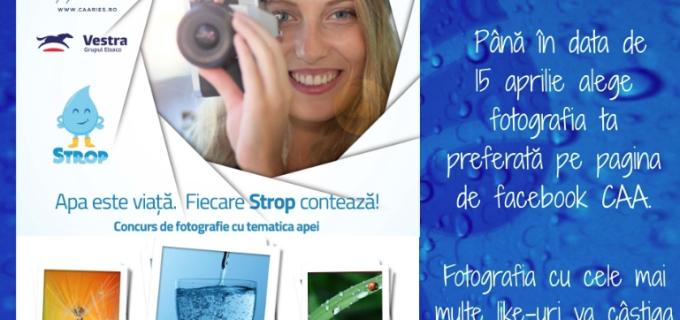 Expoziție de desen și fotografie: Apa este viață – FIecare strop contează!