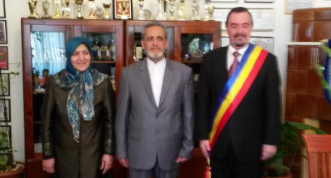 Ambasadorul Iranului în vizită oficială la Primăria Turda