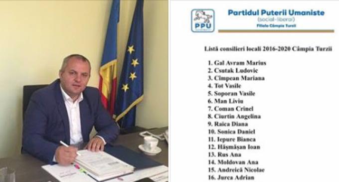PPU, primul partid care și-a anunțat lista completă de consilieri