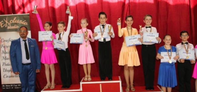 Dansatorii turdeni au participat la CUPA CLUJULUI și Cupa Spria Top Dance