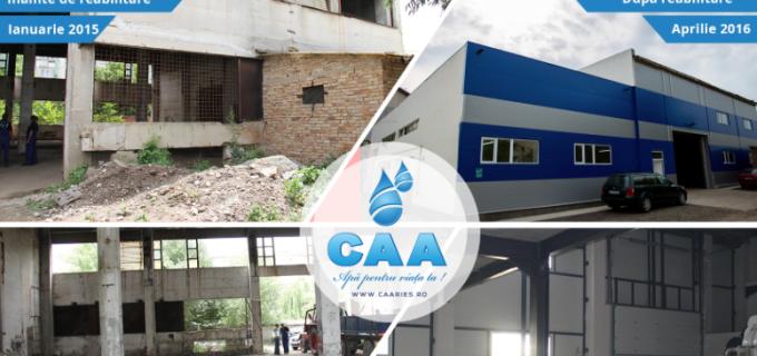 Compania de Apă Arieș, dezvoltare durabilă cu finanțare europeană – Clădirea CT15, finalizată