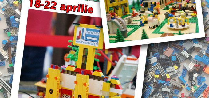 Şcoala altfel cu cărămizi LEGO la Muzeul de Istorie Turda