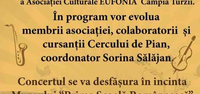 Asociația Culturală Eufonia se lansează oficial la Câmpia Turzii într-un Concert de Primăvară