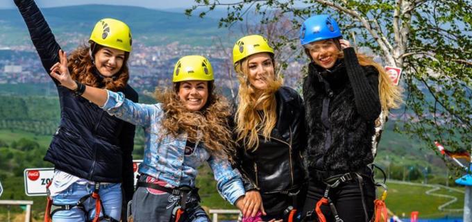 Cel mai mare Fun Park din zona orasului Cluj-Napoca este deschis în Feleac