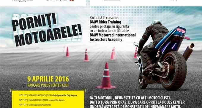 Pasionaţii de motociclete sunt aşteptaţi în week-end la Polus
