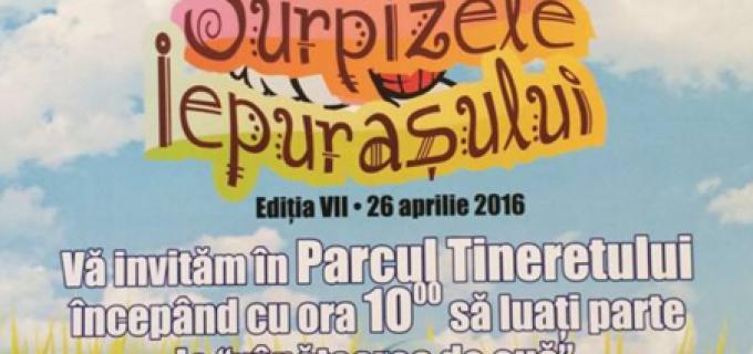 """""""Surprizele iepurașului"""", mâine, 26 Aprilie 2016, la Turda"""