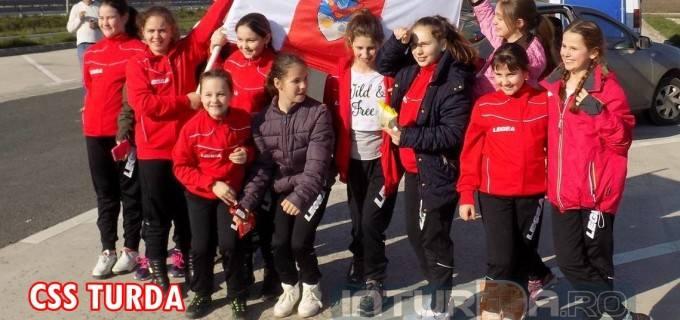 CSS Turda minivolei fete, locul 3 la prima participare la un turneu final organizat de F.R.V.