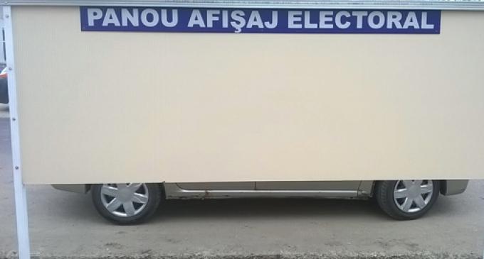 Dispoziție privind stabilirea ordinii pe panourile de afişaj electoral a competitorilor electorali pentru alegerea autorităţilor administraţiei publice locale din anul 2016