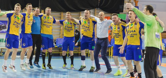 Prosport:  Potaissa Turda este singura echipă din România care termină în Top 4 în ultimii 3 ani competiționali la handbal masculin