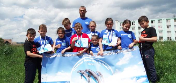 3 medalii de aur obținute de Delfinii Turdeni la Sfântu Gheorghe!
