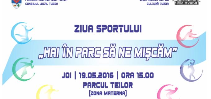 """""""Hai în parc să ne mișcăm"""" – ZIUA SPORTULUI sărbătorită la Turda"""