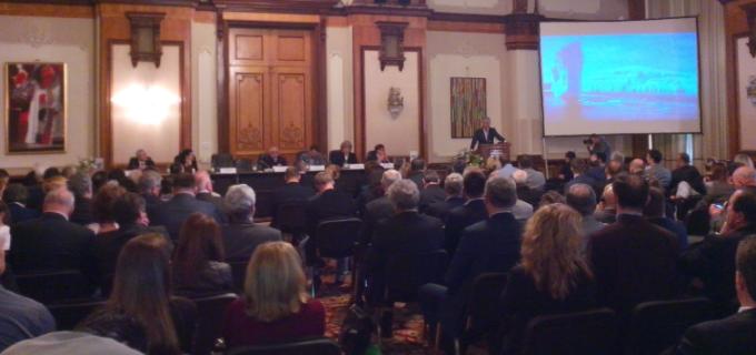 """Compania de Apă Arieș – exemplu de bune practici în accesarea și implementarea de proiecte finanțate din fonduri europene la """"Forumul Regional al Apei Dunăre – Europa de Est 2016"""""""