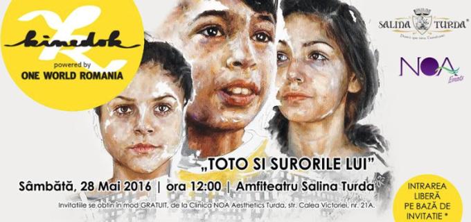 """NOA Events: """"Toto si surorile lui"""", astăzi în amfiteatrul Salinei Turda"""