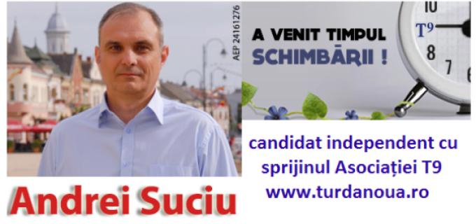"""Andrei Suciu: """"Frumusețea Turzii este îngropată în Salină. Trebuie să o scoatem la suprafață, întregul oraș trebuie transformat într-o bijuterie, nu doar Salina!"""""""