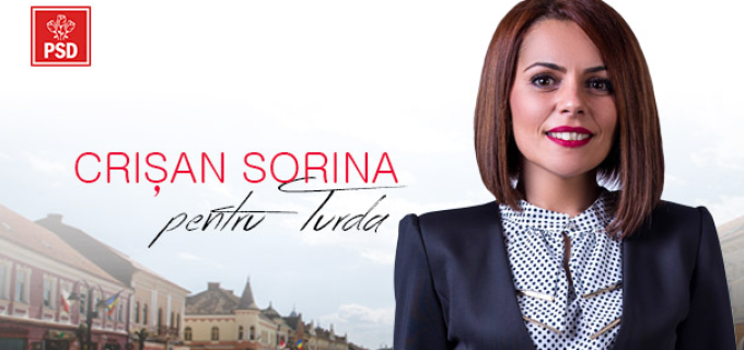 Crișan Sorina-Mihaela, candidat PSD pentru Consiliul Local