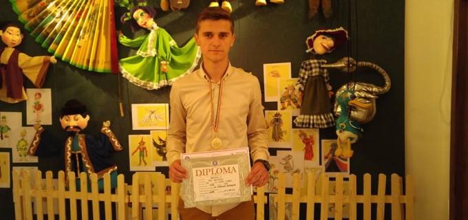 Elevul Beniamin BIA (CNMV Turda) a obținut locul 1 la Olimpiada Națională de Tehnolocia Informației