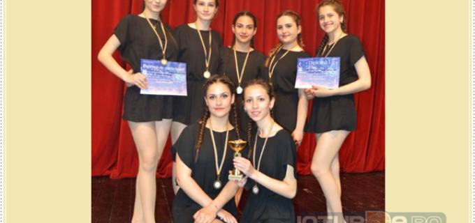 Clubul Copiilor Turda a câștigat locul 3 la ultimul concurs național de dans!