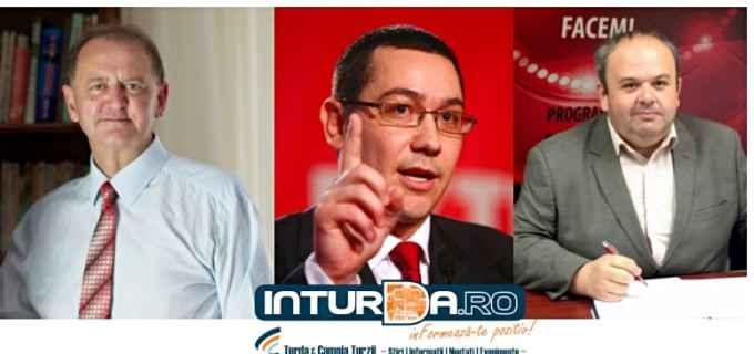 Victor Ponta vine la Turda să-i susțină pe Cristian Matei și Petre Pop