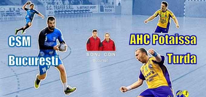 Potaissa Turda joacă luni, 9 mai 2016, primul meci al semifinalei cu CSM București în direct pe Digisport!