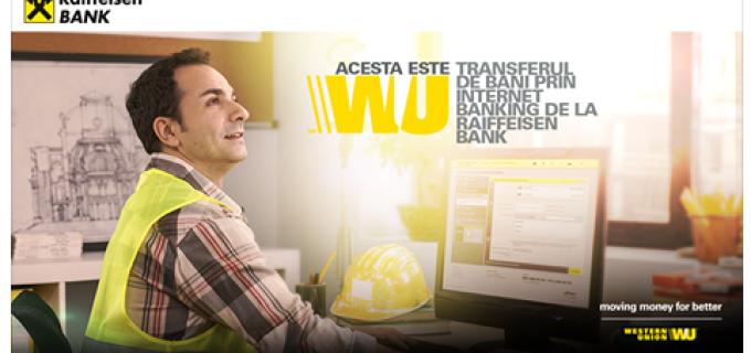 Trimite bani cu Western Union de la Raiffeisen Bank si bucura-te de premiile saptamanale