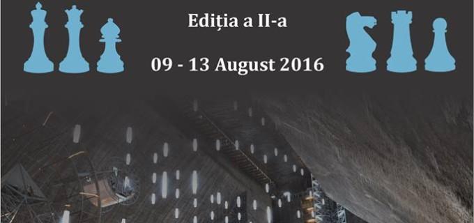"""Festivalul Internațional de Șah """"Salina Turda"""", ediția a doua, va avea loc în luna August"""
