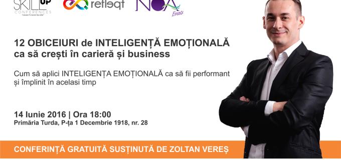 Seminar GRATUIT despre cum să gestionezi emoțiile ca să fii performant și împlinit în același timp