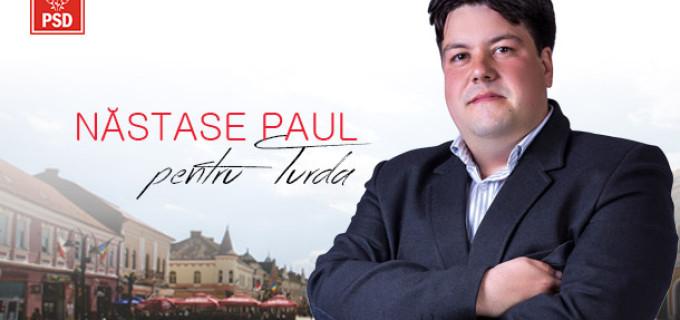 Paul Năstase, candidat PSD pentru Consiliul Local